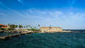 Slavery Fortress On Goree Isla...