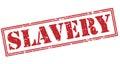 Slavery red stamp