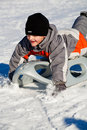 Sledding Stock Images