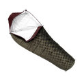 Sleeping bag used to keep warm on camping trips