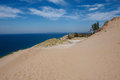 Sleeping bear dunes national lakeshore on the shores of lake michigan michigan state Stock Photography