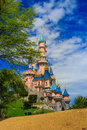 Sleeping Beauty castle at Disneyland Paris, Eurodisney Editorial.