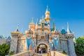Sleeping Beauty Castle at Disneyland Park. Royalty Free Stock Photo