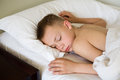 Sleeping boy Stock Image