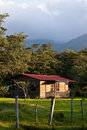 Sleeping cabin on a hacienda Stock Photography