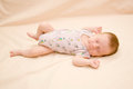 Sleeping newborn Royalty Free Stock Photography