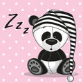 Sleeping panda Royalty Free Stock Photo