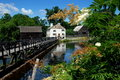 Sleepy Hollow, NY: Philipsburg Manor Stock Photography