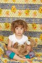 Sleepy little girl Royalty Free Stock Photo