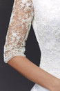 Sleeve dress Royalty Free Stock Images