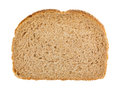 Slice of all natural wheat bread
