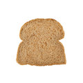 Slice of brown bread Royalty Free Stock Photo
