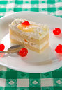 Slice of cake Royalty Free Stock Photo