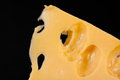 Slice of cheese Royalty Free Stock Photo
