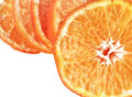 Slice of orange. Royalty Free Stock Photos