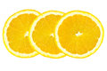 Slice of orange Royalty Free Stock Images