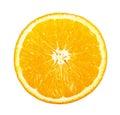 Slice of orange Royalty Free Stock Photo
