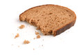 Slice of rye bread Royalty Free Stock Photo