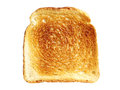 Slice toast bread isolated on a white background Stock Image