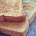 Slice toast bread retro vintage style Royalty Free Stock Images
