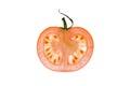 Slice of tomatoe Royalty Free Stock Photo