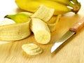 Sliced banana Royalty Free Stock Photo
