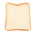 Sliced bread isolated on a white background Royalty Free Stock Images