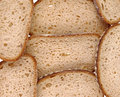 Sliced bread texture Royalty Free Stock Photo