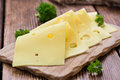 Sliced Cheese Royalty Free Stock Photo