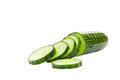 Sliced Cucumber Royalty Free Stock Photography