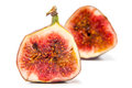 Sliced fig Royalty Free Stock Photo