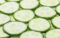 Sliced Fresh Cucumber background Royalty Free Stock Photo