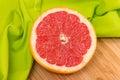 Sliced Grapefruit Royalty Free Stock Photo