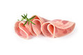 Sliced ham sausage Royalty Free Stock Photo