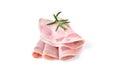 Sliced ham sausage Royalty Free Stock Photo