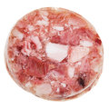 Sliced head cheese Royalty Free Stock Photo