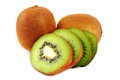 Sliced Kiwi Stock Photography