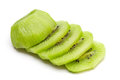 Sliced kiwi close up Stock Image