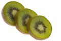 Sliced ??kiwi fruit Royalty Free Stock Photo
