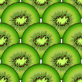 Sliced kiwi fruit design seamless colorful patter pattern vector art Stock Photography