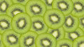 Sliced kiwi fruit pattern background Royalty Free Stock Photo