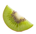 Sliced kiwi fruit segment Royalty Free Stock Photography