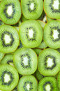 Sliced kiwi fruits fruit background Royalty Free Stock Photography