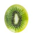 Sliced kiwi Royalty Free Stock Photo