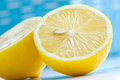 Sliced lemon Royalty Free Stock Photo