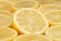 Sliced lemons Royalty Free Stock Images