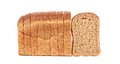 Sliced loaf of brown bread Royalty Free Stock Photo