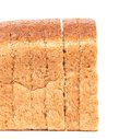 Sliced loaf of brown bread. Royalty Free Stock Photo