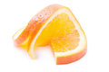 Sliced orange on a white background isolated Stock Image