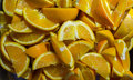 Sliced Oranges Pile Royalty Free Stock Photo